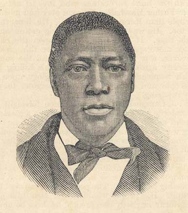 The Rev. William Campbell was born a slave in 1812 but some research suggests he was later given his freedom by his mistress.