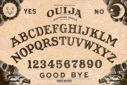 Ouija boards have been around in the U.S. since the 1840s. Hasbro currently owns all rights and parents to them. Mental Floss has a well-written history about Ouija boards worth reading.