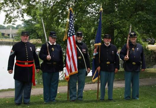 Gentlemen of the Sons of Union Veterans of the Civil War, General William T. Sherman Camp #93. Photo courtesy of their Facebook page.
