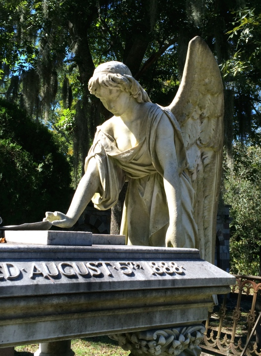 Very little is known about Louisa Porter. But the statue that graces her grave is stunning.
