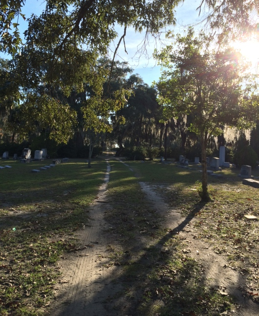 Sunday morning at Bonaventure Cemetery in Savannah, Ga.