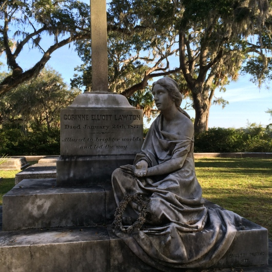 Corrinne Elliot Lawton was the daughter of a wealthy Confederate brigadier general and a minister to Austria. But she died young just before her wedding day.