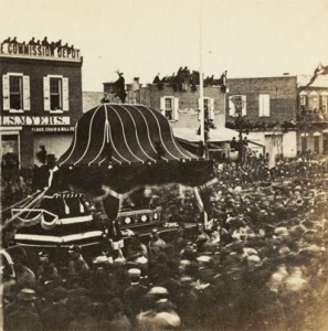 Philadelphians were eager to catch a glimpse of Lincoln's funeral hears. Thousands flocked to Independence Square in hopes of viewing him up close.
