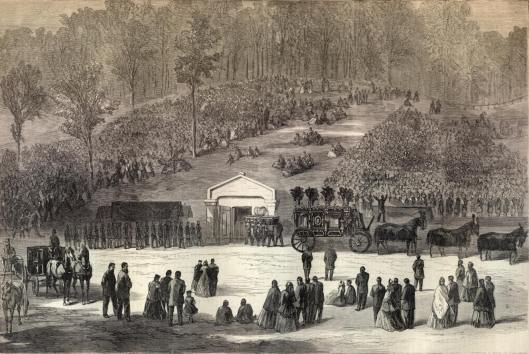 Lincoln came to his final resting place on Tuesday, May 4. He would not stay there for long, however.