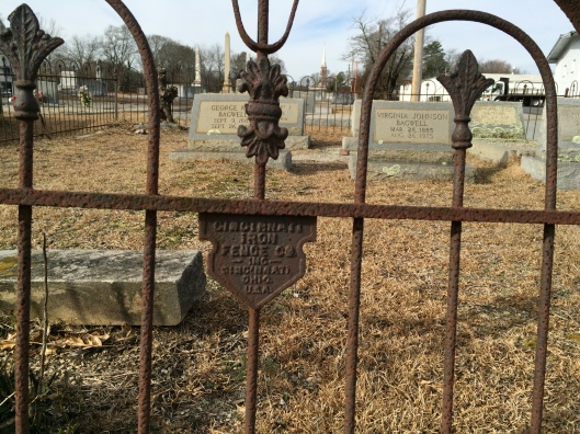 Another example of the Stewart Iron Works handiwork at Shadowlawn.