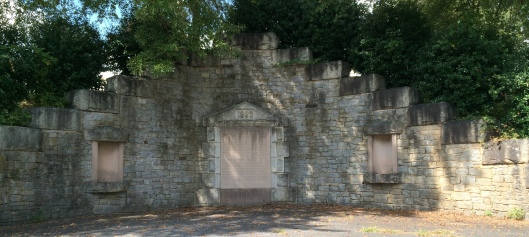 Westview Cemetery's receiving vault was built in 1888 and was used to hold caskets during periods of bad weather when burials couldn't take place. During the Spanish Flu epidemic in 1918-1999, it was put to use because of the rising death toll. It was sealed in the 1940s when Westview's Abbey Mausoleum was completed.