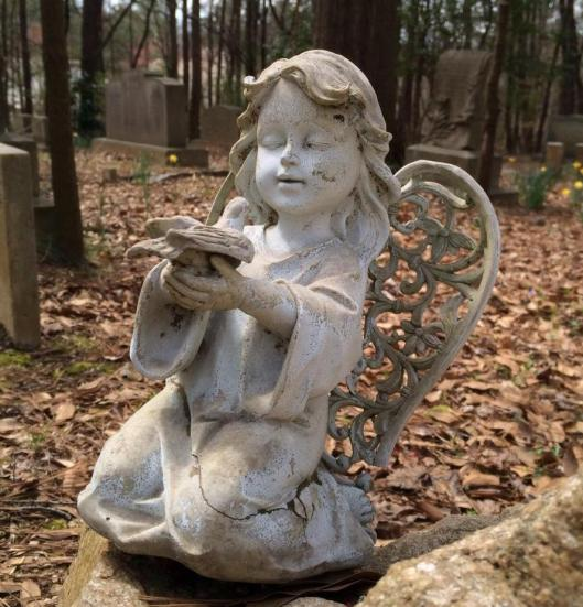 Heard Cemetery angel