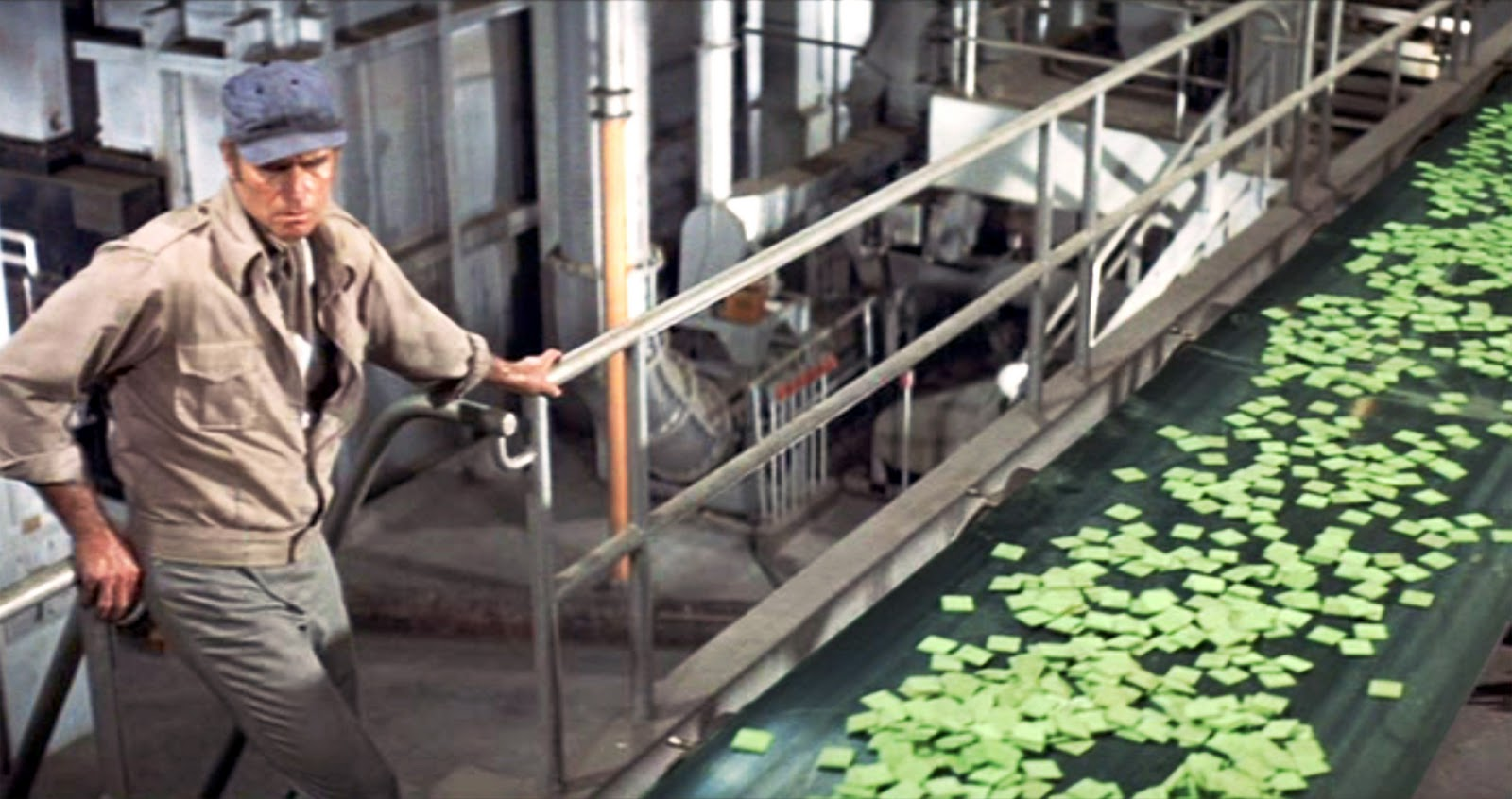 Soylent green turning human remains into compost for Soylent green