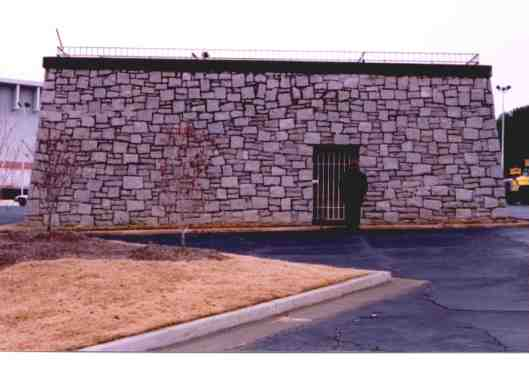 I found this picture of the Crowley Mausoleum when it was in the Avondale Mall parking lot. Many people have told me they remember it well when they lived in that area.