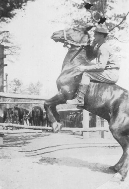 Older than his brother Van by 12 years, J.R. Duke Jr. lied about his age to join the U.S. Cavalry. He told his family years later,