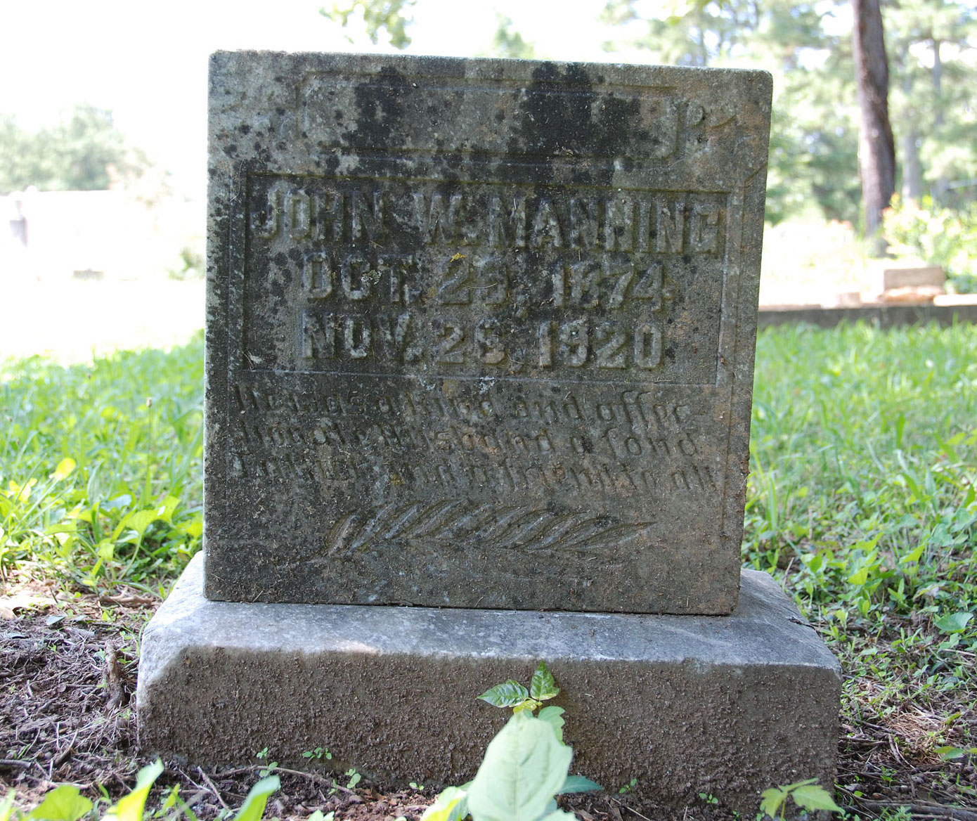The Laughter Of Children: Dunwoody's New Hope Cemetery