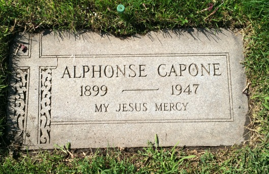 Al Capone didn't die in a hail of gunfire but of late-stage syphilis.
