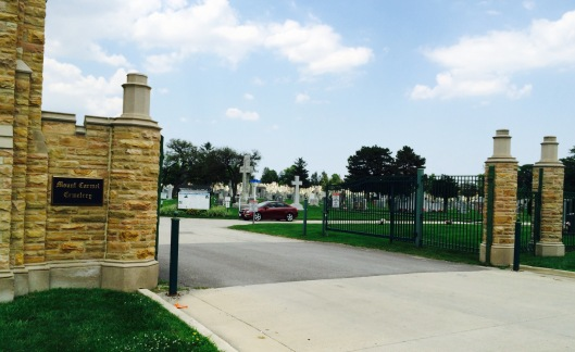 Consecrated in 1901, Mount Carmel Catholic Cemetery was the first cemetery to be opened in the western area of the Archdiocese of Chicago.