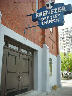 Rev. Williams became pastor of Ebenezer Baptist Church in