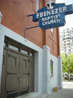 Rev. Williams became pastor of Ebenezer Baptist Church in
