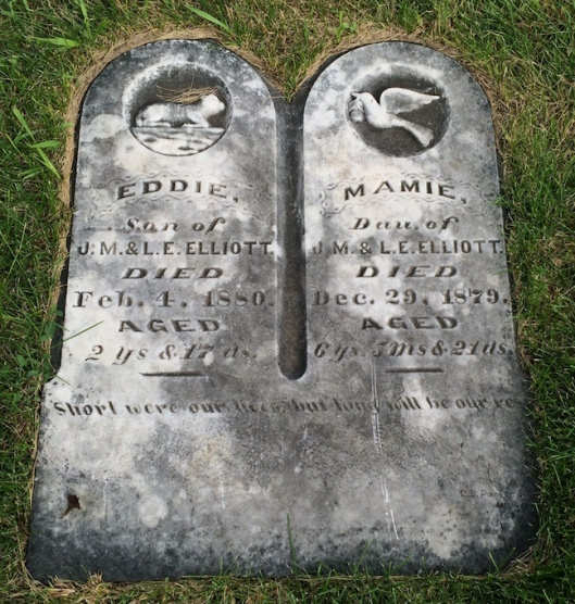Little Mamie and Eddie Elliott would die within months of each other for reasons unknown.