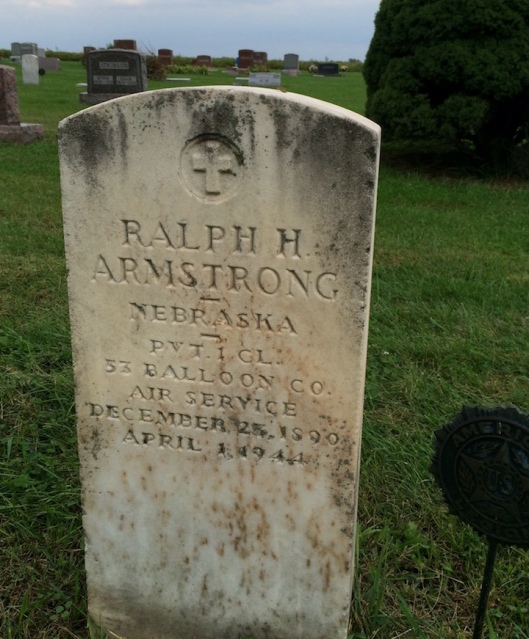Ralph Armstrong's grave highlights a little-known chapter in American military history.