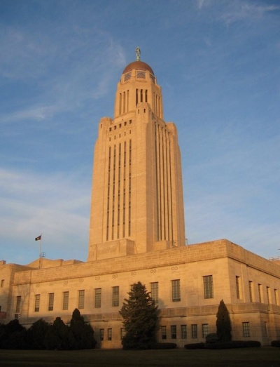Lincoln's capitol building is thought to be the second tallest in the country. Don't miss the opportunity to tour it, the murals and art deco design is beautiful. Photo source: Frankcanfly.