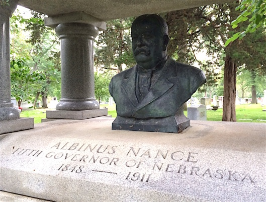The Nance bust was sculpted by noted artist Gilbert Riswold, who studied with a more famous sculptor, Lorado Toft.