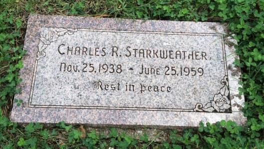 Wyuka Starkweather grave