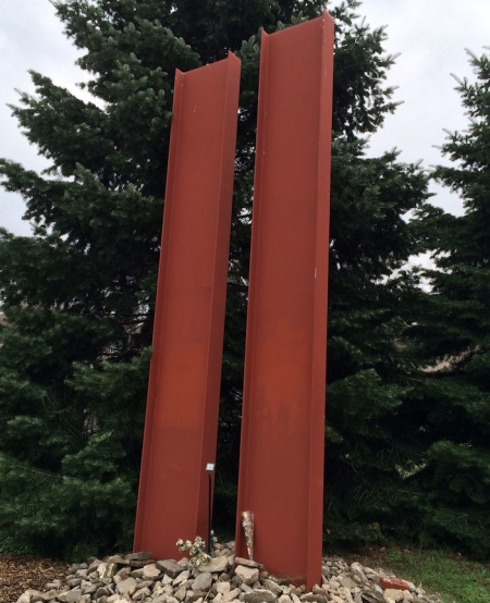 Wyuka's 9/11 Memorial is located close to the Nebraska Firefighters Memorial in Section 41.