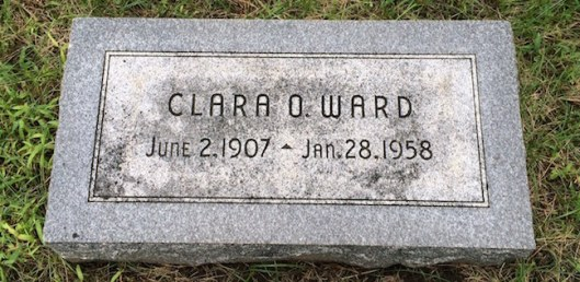 Clara Ward was active in the Junior League and enjoyed playing the piano.
