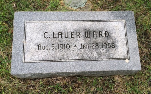 C. Lauer Ward was a wealthy businessman who enjoyed traveling with his wife and son.