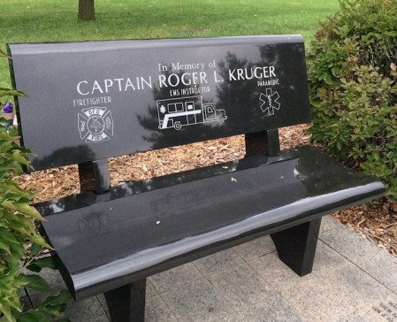 Captain Roger Kruger was a firefighter, EMS instructor and paramedic.
