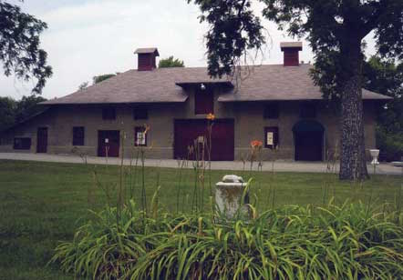 Built in 1908-1909, Wyuka's stables recently underwent a $1 million renovation.