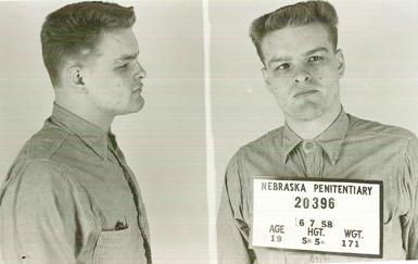 "Charles ""Charlie"" Starkweather, with his teenage girlfriend Caril Ann Fugate, murdered 11 people in two states in 1958."