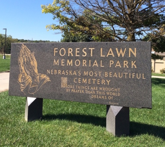 Forest Lawn Funeral Home and Memorial Park opened in 1885.