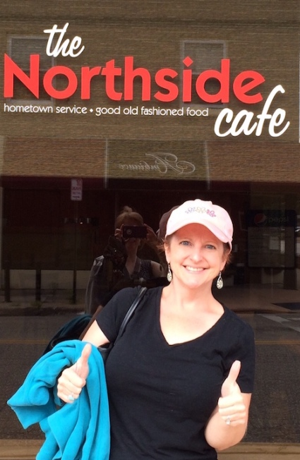 I give the Northside Cafe two thumbs up!
