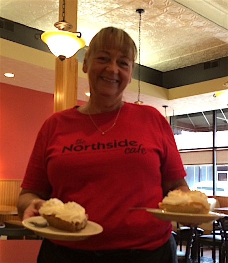 If you like pie, Northside Cafe is the place for you.