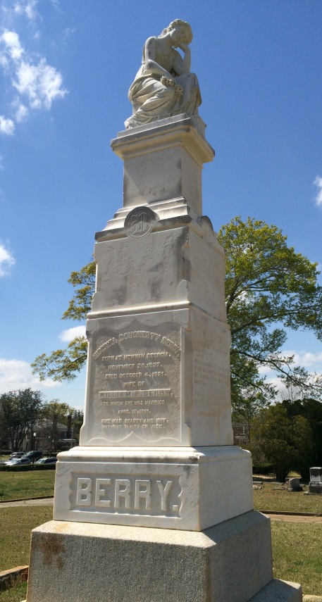 "Hibernia died at the age of 33. On her monument are the words ""She had beauty and wit without vanity or vice."""