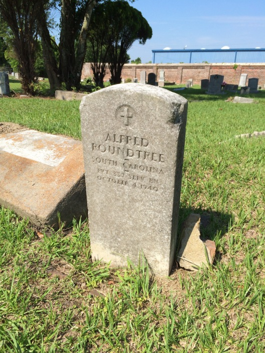 Alfred Roundtree was married and held several jobs during is life, from porter to mill worker. He died in a VA hospital at the age of 44.
