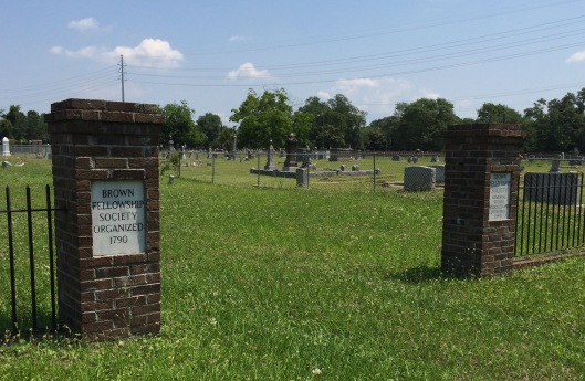 With property bought in 1956, Brown Fellowship Society moved several monuments from its original cemetery on Pitt Street.