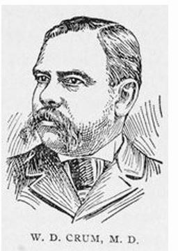 "Dr. William Crum, appointed U.S. Minister to Liberia, had always been interested in infectious diseases and treated some of his colleagues for ""African fever."" In September 1912, Dr. Crum himself contracted African fever and returned to the U.S. and died in Charleston soon after."