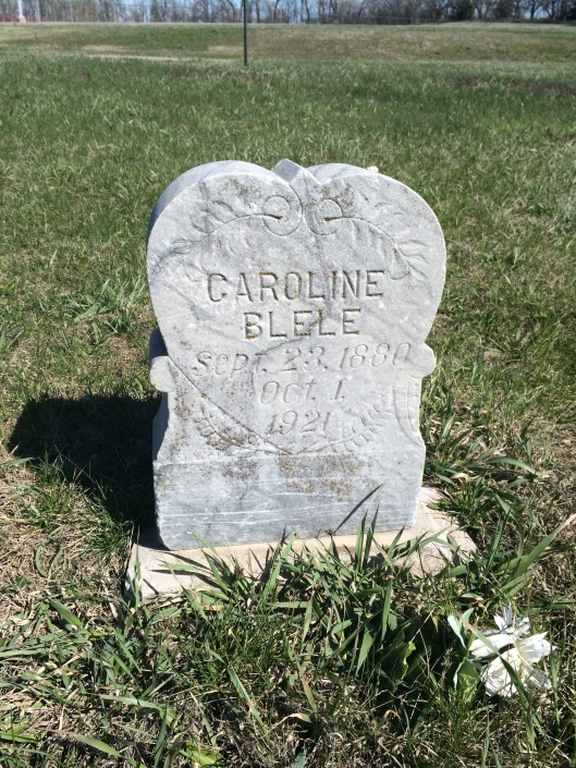 Caroline Blele married her husband, Ole, in South Dakota in 1908. It was a second marriage for both. They had several children together. I don't know how long she was a patient at NRC.
