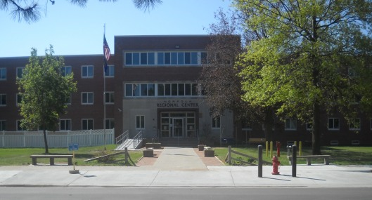 This is the Norfolk Regional Center as it looks today. This is the only building left and it houses the sex offender treatment center. Photo source: www.das.nebraska.gov