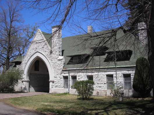 Henry T.E. Wendell also designed Fairmount's Gate Lodge in 1890. The building now serves as the office, archives, library, and meeting areas for the Fairmount Heritage Foundation. Photo source: Fairmount Cemetery.