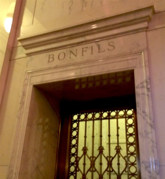 The Bonfils family crypt contains several family members but one is conspicuously absent.