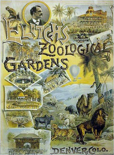 Elitch Zoological Gardens had something for everyone, from animals to theater to picnic grounds.