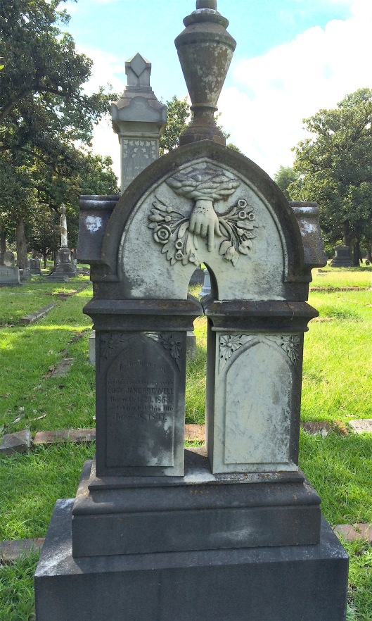 Samuel Bridwell's name is not on the marker but records indicate he died in 1921.