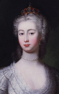 Princess Augusta of Saxe-Gotha was 17 when she married England's Frederick of Wales. Her son, George III, would become one of England's most controversial kings.