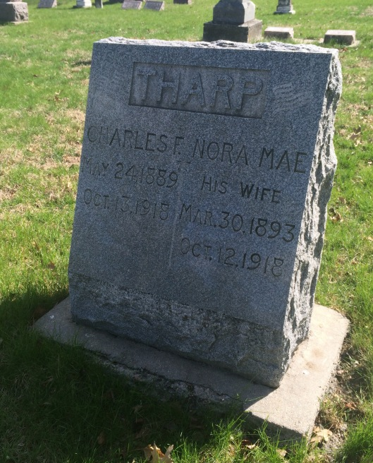 Charles and Norma Mae Tharp died within one day of each other.