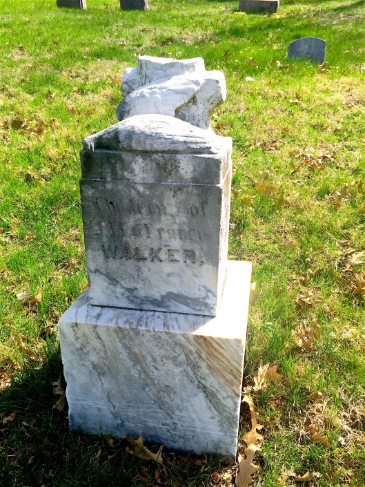 Of the three Walker children, Eddie lived the longest. He died at the age of nine.