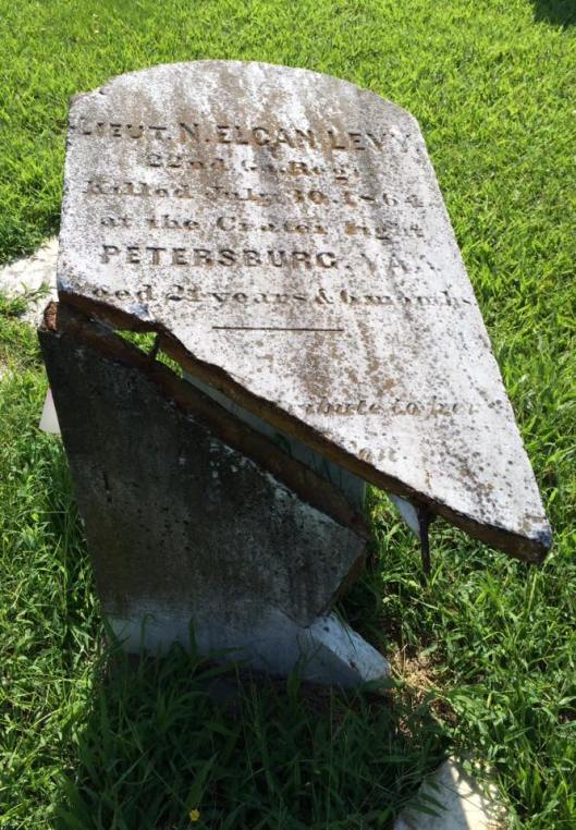 Lieutenant Nathaniel Levy was only 21 when he died at the Battle of the Crater in Petersburgh, Va. in 1864,