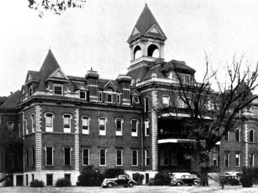 The Augusta Orphan Asylum operated out of this building until 1913 when it became part of the Medical College of Georgia (later Georgia Health Sciences University). Photo source: Robert B. Greenblatt, M.D. Library, Special Collections, Georgia Health Sciences University