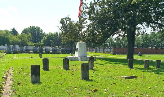 About 50 veterans of the Spanish American War are buried at Magnolia.