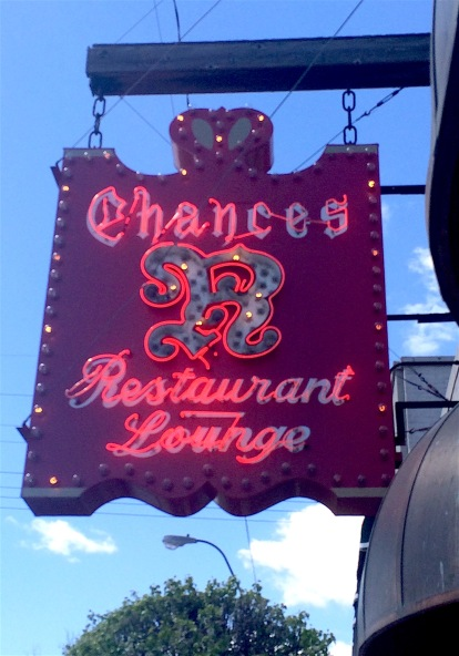 Chances are you're going to like dining at this restaurant (rimshot).